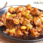 chilly pork indo chinese