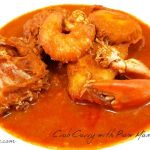 Crab Curry with Raw Mangoes