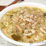 egg drop chicken soup