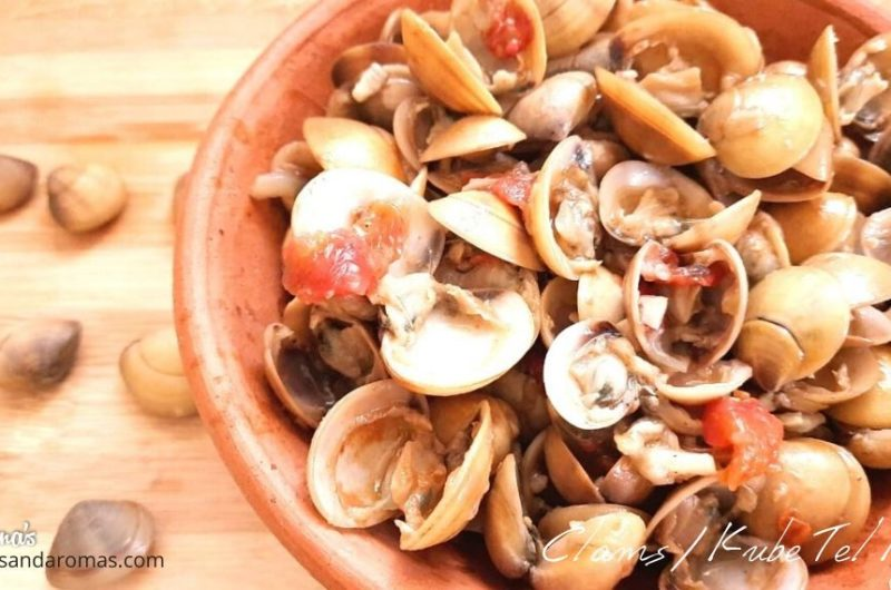 Kube Thel Piyao - Simple and Tasty Clams dry