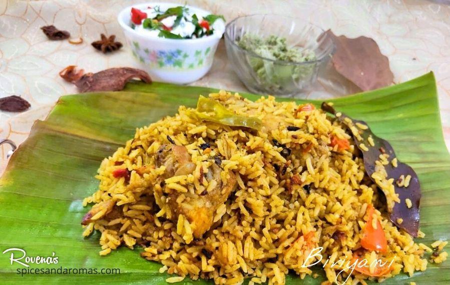Spicy Chicken Biriyani