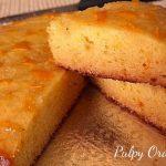 pulpy orange cake