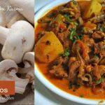 Mutton mushroom kurma recipe
